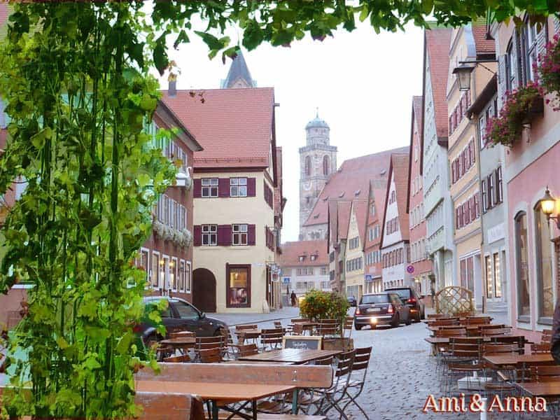 ドイツの鮮やかな街並み