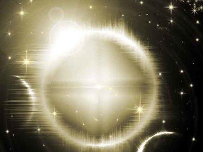 宇宙の日食のグラフィック画像