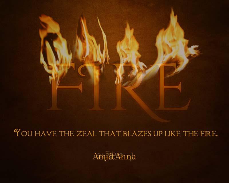 FIREと書いた炎のテキストエフェクト
