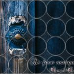 紺色の木のドアにBi-facenavigatorの文字