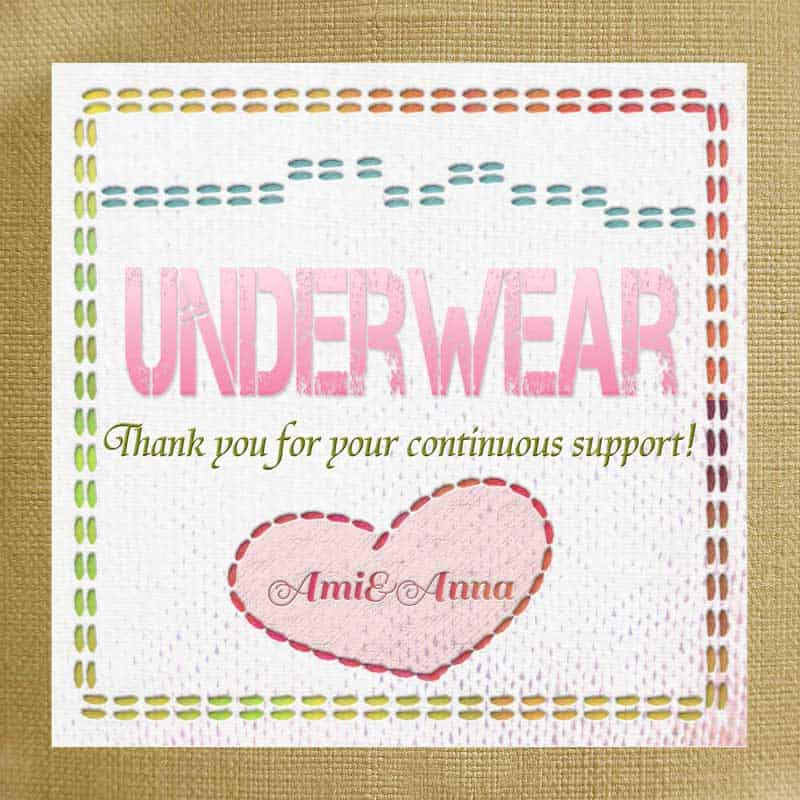 Underwearのテキストエフェクト