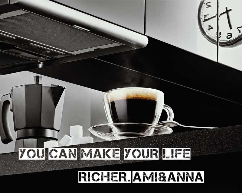 キッチンとコーヒー
