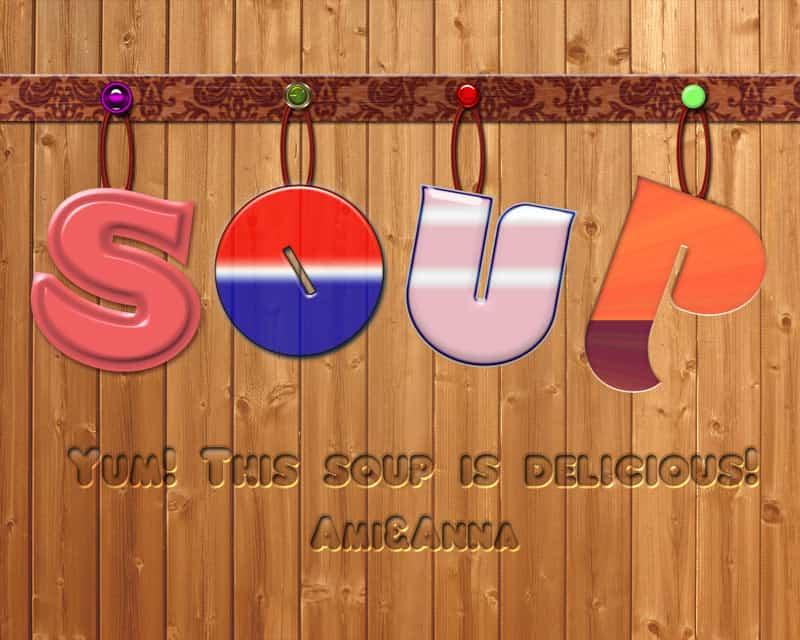 soupのテキストエフェクト