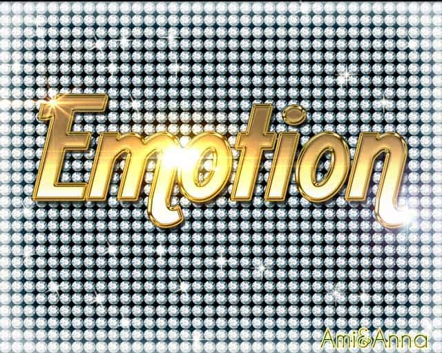 Emotionのテキストエフェクト