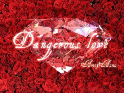 赤い沢山の薔薇とダイアモンド