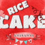 RICE CAKEのテキストエフェクト