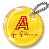 Ami&Annaのキーホルダー