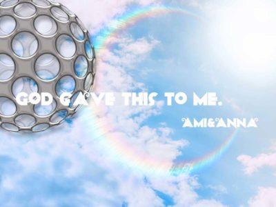 太陽の近くの丸い虹と鉄の球体のグラフィック画像