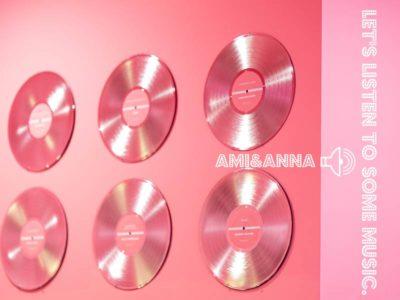 ピンク色のCD